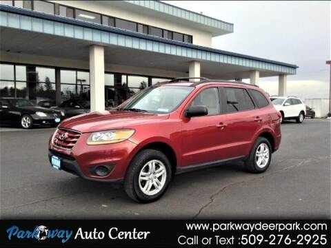 2010 Hyundai Santa Fe for sale at PARKWAY AUTO CENTER AND RV in Deer Park WA