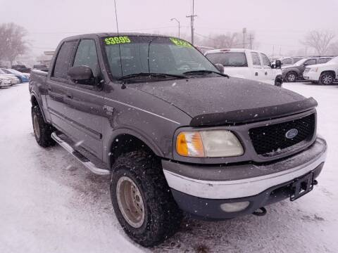2002 Ford F-150 for sale at Canyon View Auto Sales in Cedar City UT