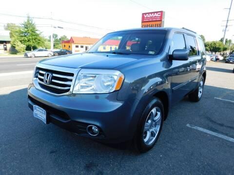 2012 Honda Pilot for sale at Cars 4 Less in Manassas VA