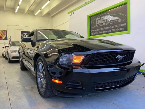 2010 Ford Mustang for sale at GCR MOTORSPORTS in Hollywood FL