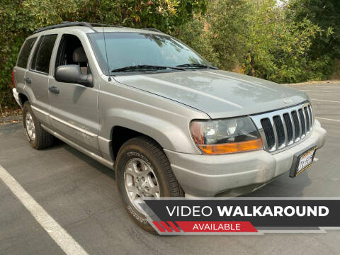 2000 Jeep Grand Cherokee for sale at Car Deal Auto Sales in Sacramento CA