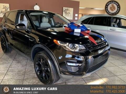 2017 Land Rover Discovery Sport for sale at Amazing Luxury Cars in Snellville GA