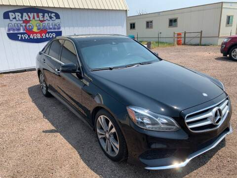 2014 Mercedes-Benz E-Class for sale at Praylea's Auto Sales in Peyton CO
