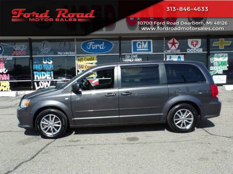 2014 Dodge Grand Caravan for sale at Ford Road Motor Sales in Dearborn MI