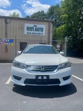 2015 Honda Accord for sale at BIOS AUTO Used Car Sales in Atlanta GA