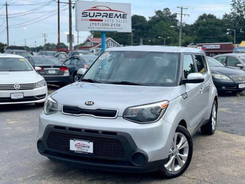 2014 Kia Soul for sale at Supreme Auto Sales in Chesapeake VA