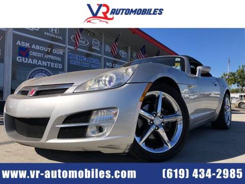 2007 Saturn SKY for sale at VR Automobiles in National City CA