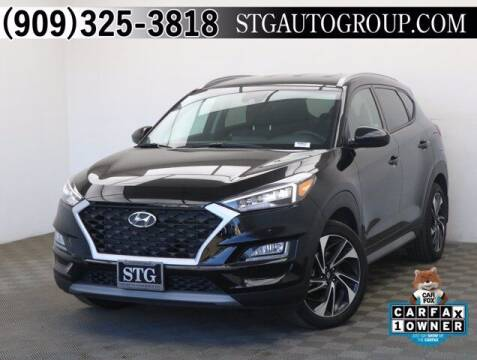 2020 Hyundai Tucson for sale at STG Auto Group in Montclair CA