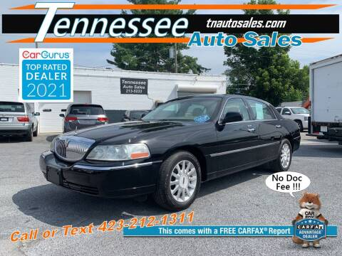 2007 Lincoln Town Car for sale at Tennessee Auto Sales in Elizabethton TN