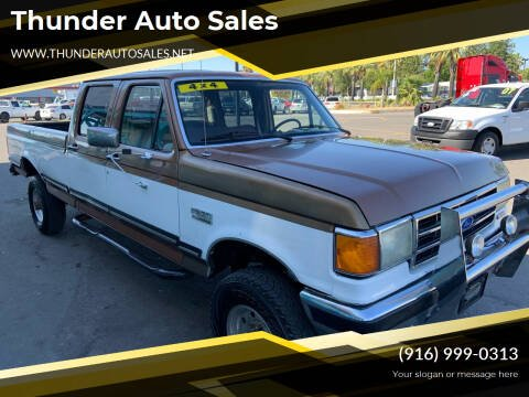 1990 Ford F-350 for sale at Thunder Auto Sales in Sacramento CA