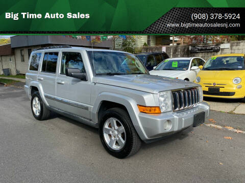 2007 Jeep Commander for sale at Big Time Auto Sales in Vauxhall NJ
