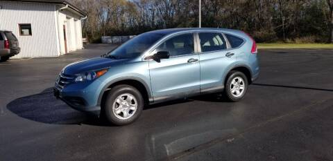 2014 Honda CR-V for sale at SINDIC MOTORCARS INC in Muskego WI