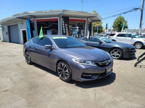 2017 Honda Accord for sale at Imports Auto Sales & Service in San Leandro CA