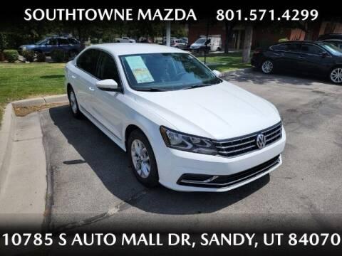 2017 Volkswagen Passat for sale at Southtowne Mazda of Sandy in Sandy UT
