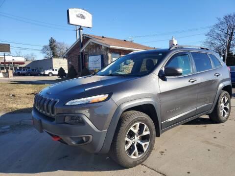 2016 Jeep Cherokee for sale at All Starz Auto Center Inc in Redford MI