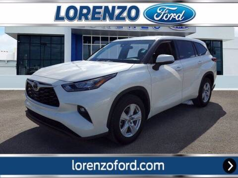 2020 Toyota Highlander for sale at Lorenzo Ford in Homestead FL