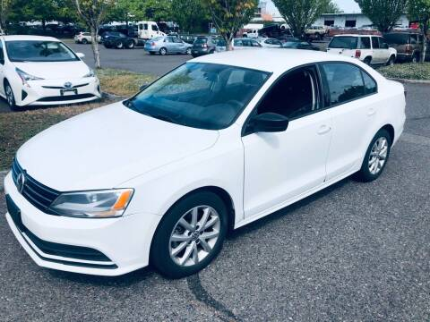 2015 Volkswagen Jetta for sale at Blue Line Auto Group in Portland OR