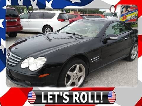 2003 Mercedes-Benz SL-Class for sale at Das Autohaus Quality Used Cars in Clearwater FL