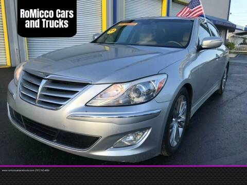 2012 Hyundai Genesis for sale at RoMicco Cars and Trucks in Tampa FL