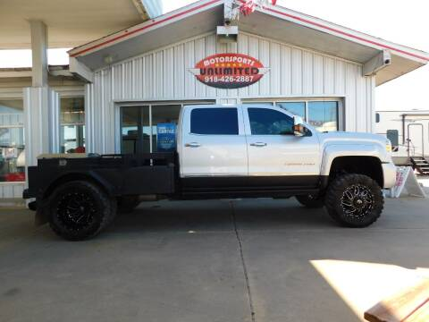 2018 GMC Sierra 3500HD for sale at Motorsports Unlimited in McAlester OK