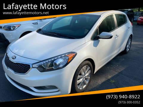 2015 Kia Forte5 for sale at Lafayette Motors in Lafayette NJ