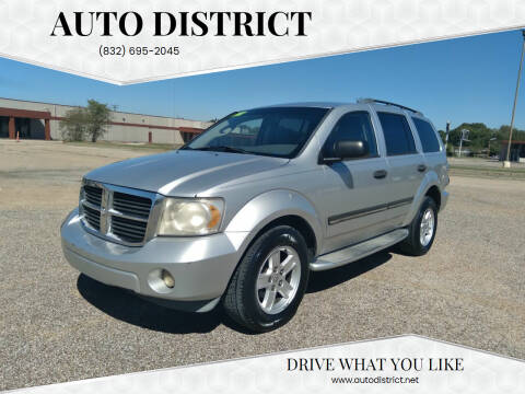 2007 Dodge Durango for sale at Auto District in Baytown TX