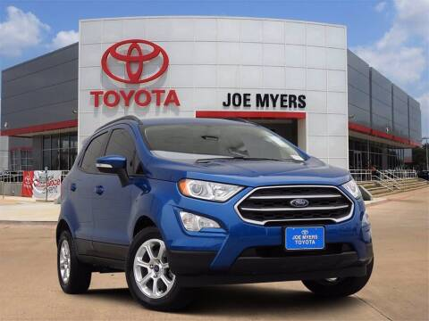 2019 Ford EcoSport for sale at Joe Myers Toyota PreOwned in Houston TX