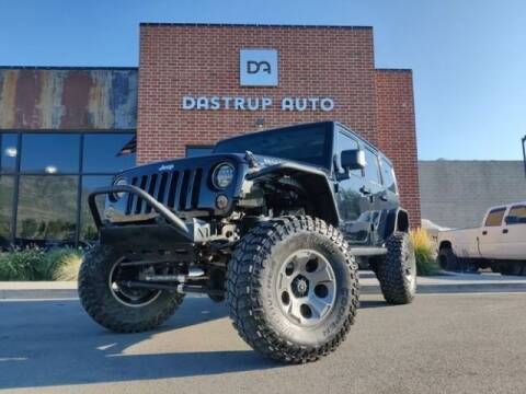 2014 Jeep Wrangler Unlimited for sale at Dastrup Auto in Lindon UT