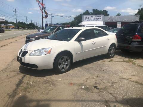 2008 Pontiac G6 for sale at AFFORDABLE USED CARS in Richmond VA