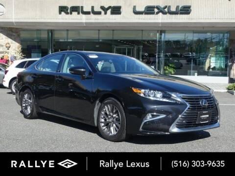 2018 Lexus ES 350 for sale at RALLYE LEXUS in Glen Cove NY