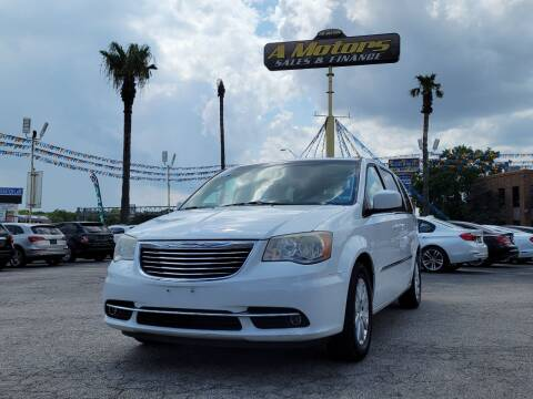2014 Chrysler Town and Country for sale at A MOTORS SALES AND FINANCE in San Antonio TX