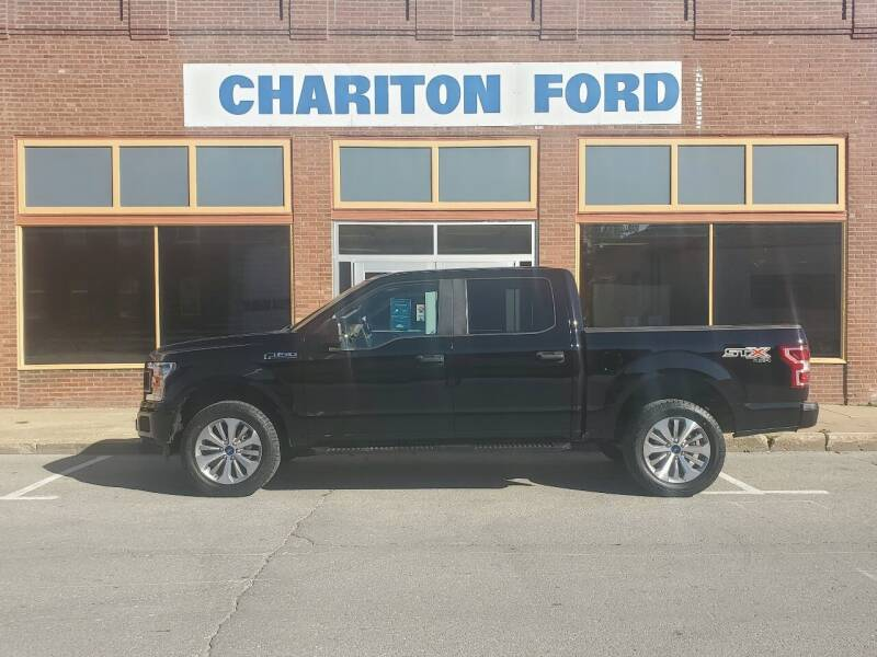 2018 Ford F-150 4x4 XL 4dr SuperCrew 5.5 ft. SB - Chariton IA