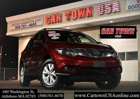 2012 Nissan Murano for sale at Car Town USA in Attleboro MA