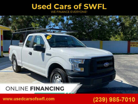 2016 Ford F-150 for sale at Used Cars of SWFL in Fort Myers FL