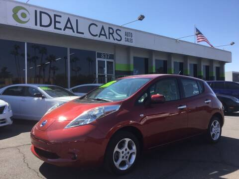 2012 Nissan LEAF for sale at Ideal Cars in Mesa AZ