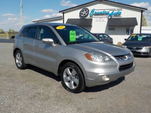 2009 Acura RDX for sale at Country Auto in Huntsville OH