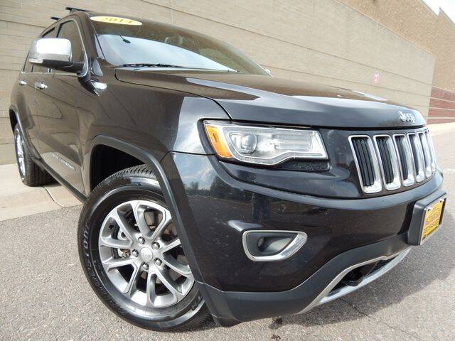 2014 Jeep Grand Cherokee for sale at Altitude Auto Sales in Denver CO