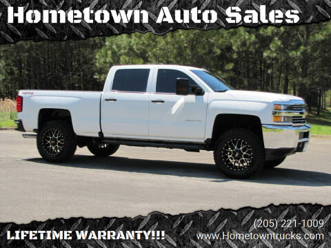 2017 Chevrolet Silverado 2500HD for sale at Hometown Auto Sales - Trucks in Jasper AL