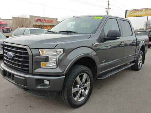 2015 Ford F-150 for sale at Canyon Auto Sales in Orem UT