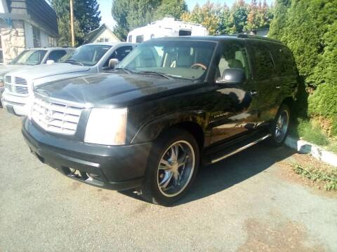 2002 Cadillac Escalade for sale at Payless Car & Truck Sales in Mount Vernon WA