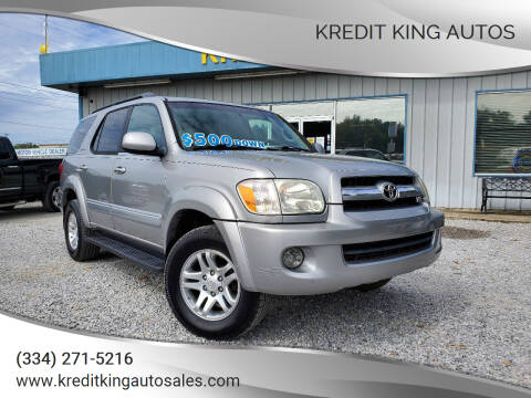 2006 Toyota Sequoia for sale at Kredit King Autos in Montgomery AL