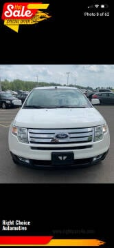 2009 Ford Edge for sale at Right Choice Automotive in Rochester NY
