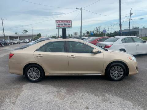 2012 Toyota Camry for sale at Jamrock Auto Sales of Panama City in Panama City FL
