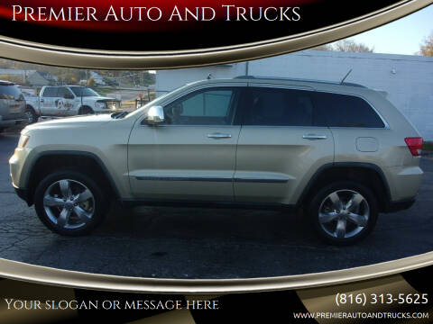 2011 Jeep Grand Cherokee for sale at Premier Auto And Trucks in Independence MO