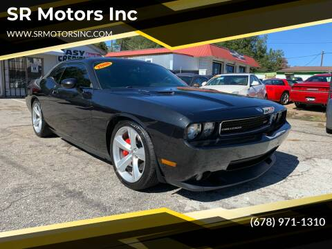 2008 Dodge Challenger for sale at SR Motors Inc in Gainesville GA