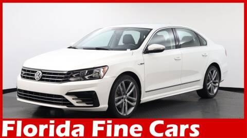 2017 Volkswagen Passat for sale at Florida Fine Cars - West Palm Beach in West Palm Beach FL