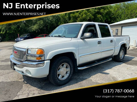 2005 GMC Sierra 1500 for sale at NJ Enterprises in Indianapolis IN
