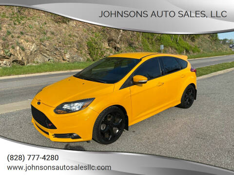 2013 Ford Focus for sale at Johnsons Auto Sales, LLC in Marshall NC