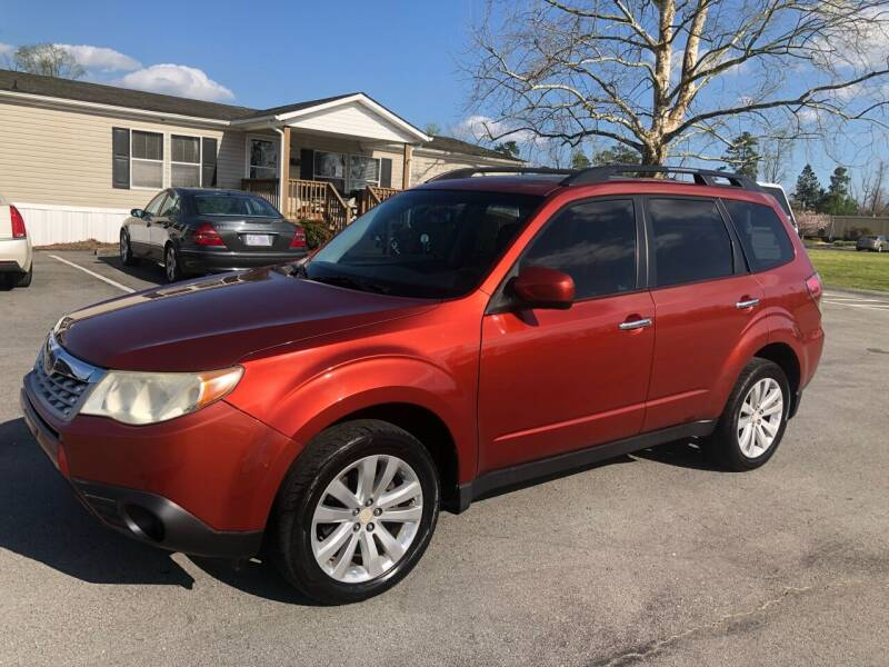 2011 Subaru Forester for sale at IH Auto Sales in Jacksonville NC