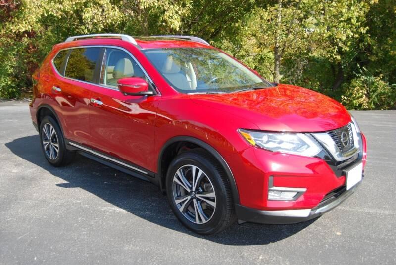 2017 Nissan Rogue for sale at DOE RIVER AUTO SALES in Elizabethton TN